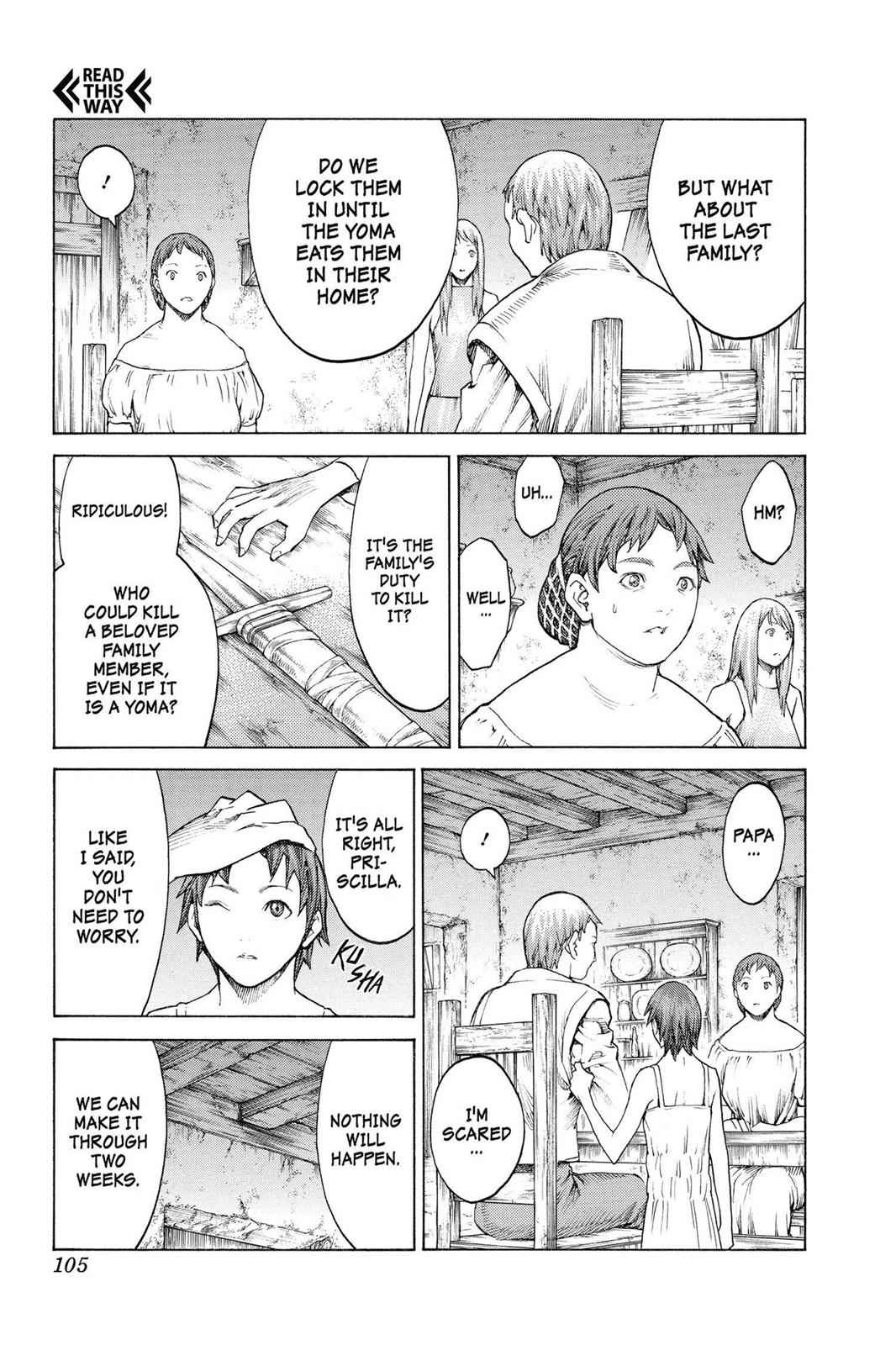 Claymore Chapter 135 Page 9