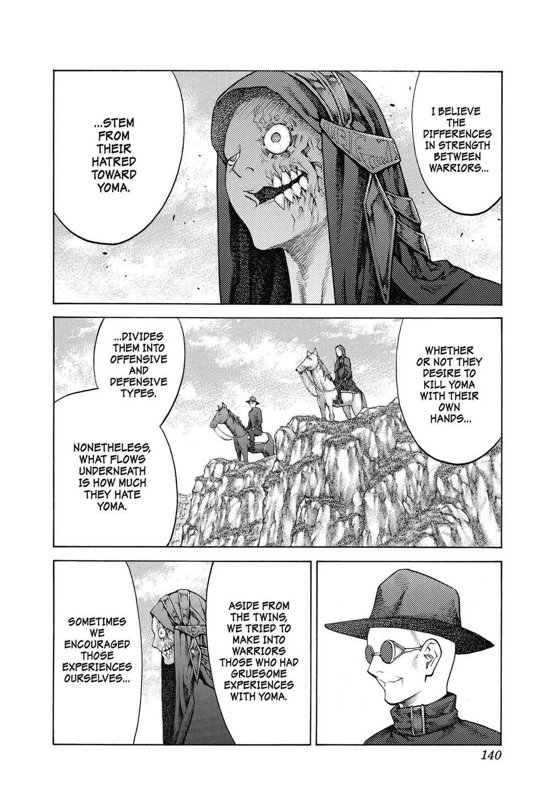 Claymore Chapter 136 Page 11