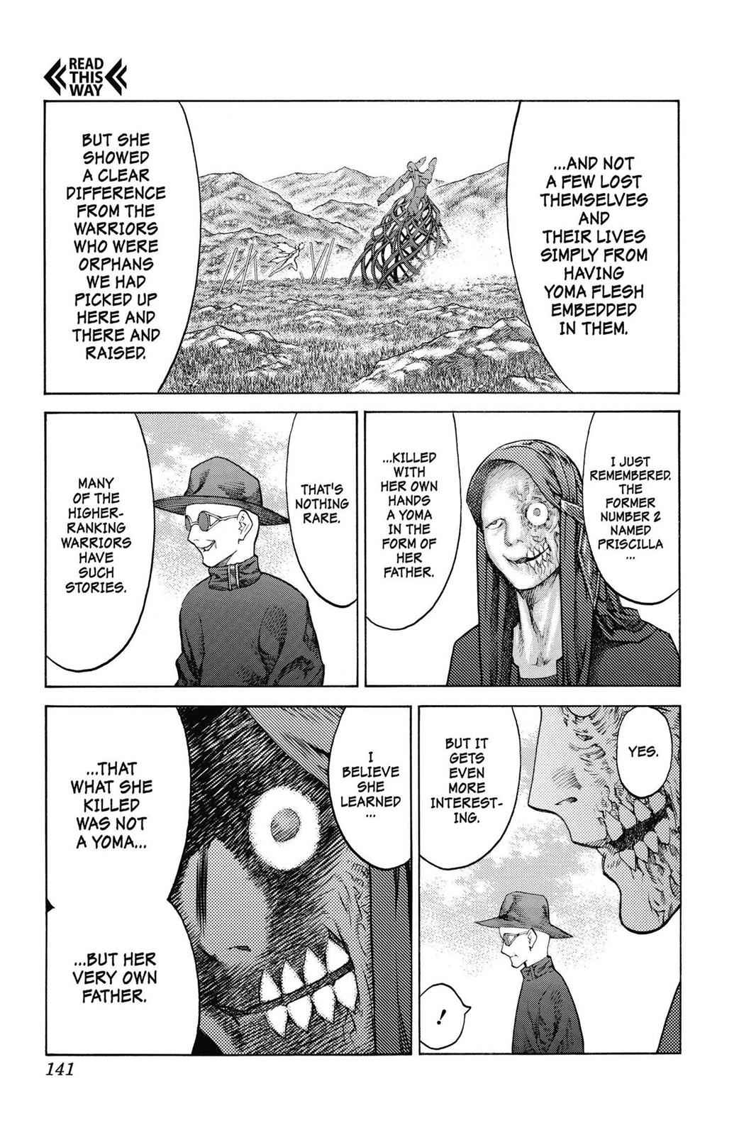 Claymore Chapter 136 Page 12