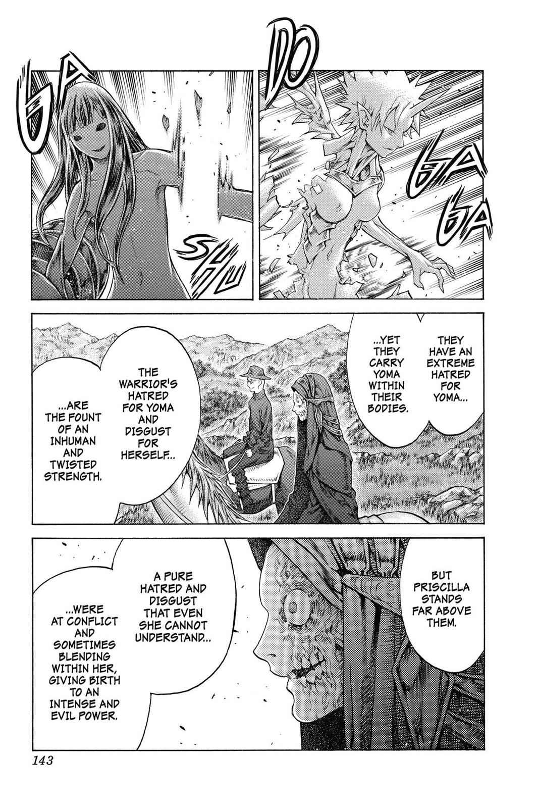 Claymore Chapter 136 Page 14