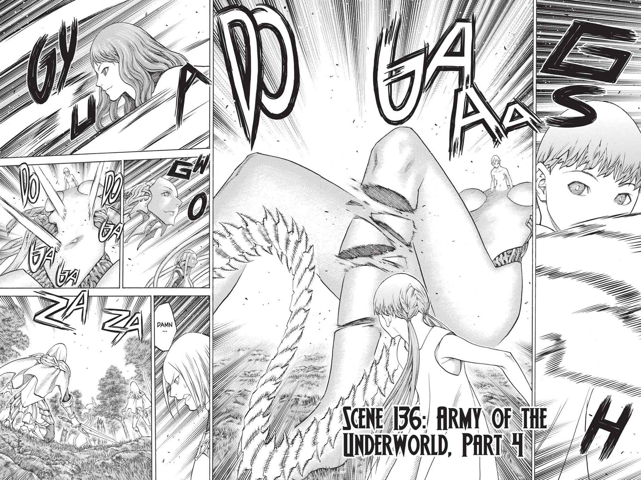 Claymore Chapter 136 Page 2