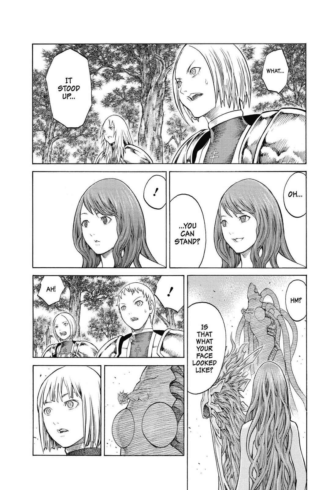 Claymore Chapter 136 Page 20