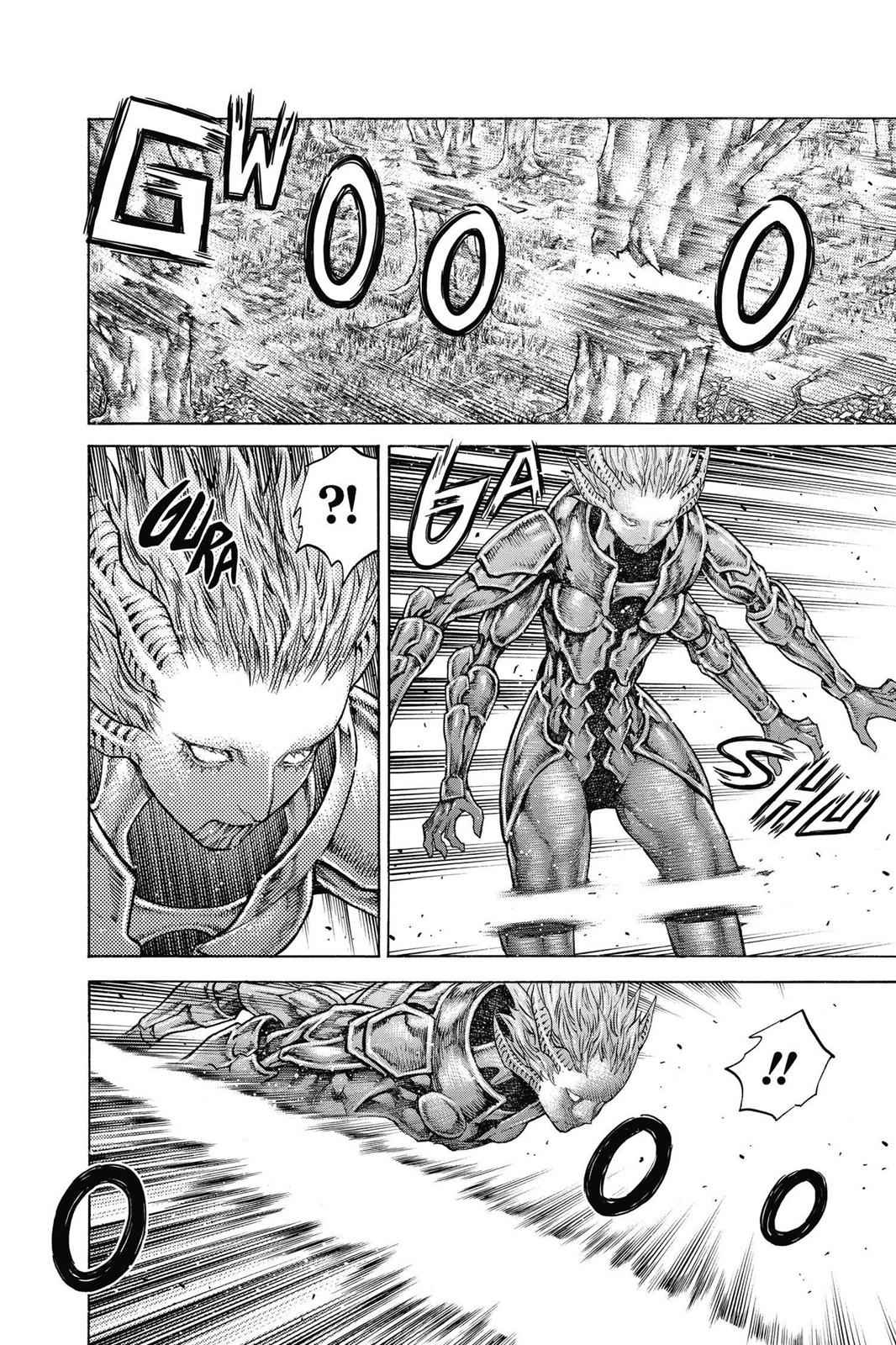 Claymore Chapter 136 Page 25