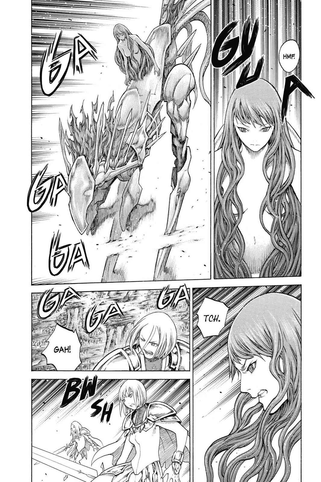 Claymore Chapter 136 Page 27