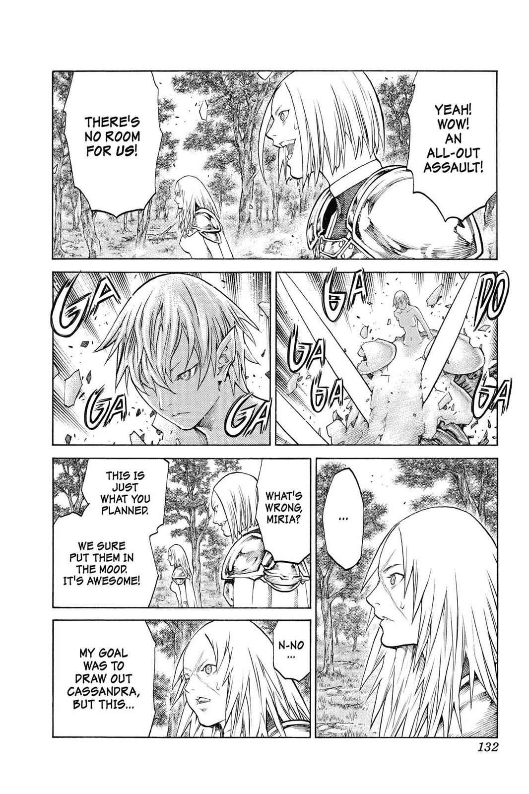 Claymore Chapter 136 Page 3