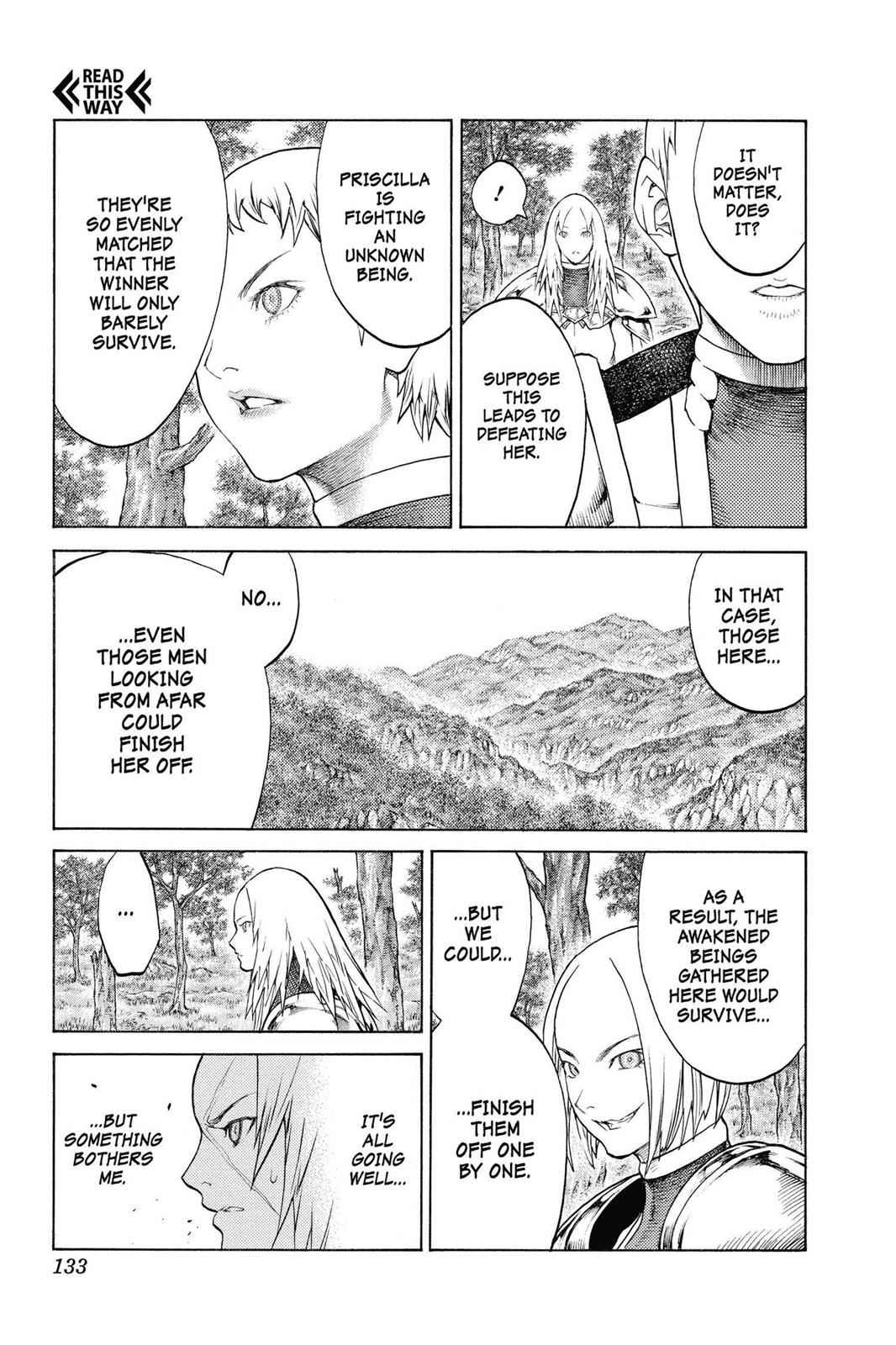 Claymore Chapter 136 Page 4