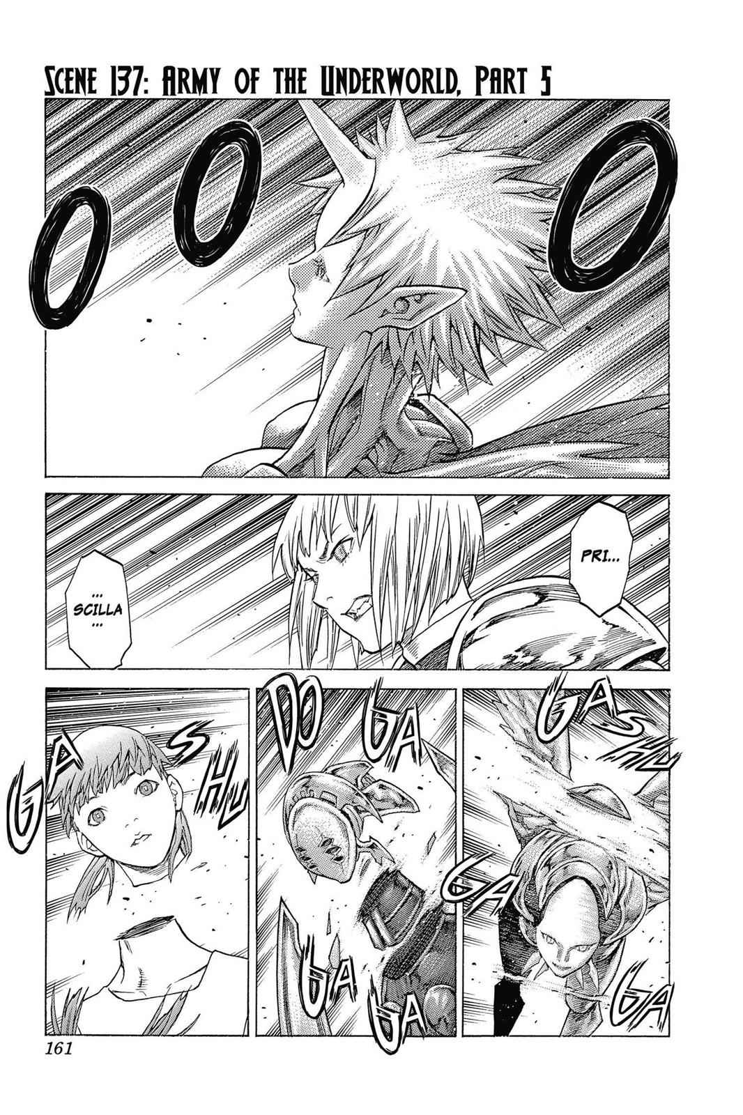 Claymore Chapter 137 Page 1