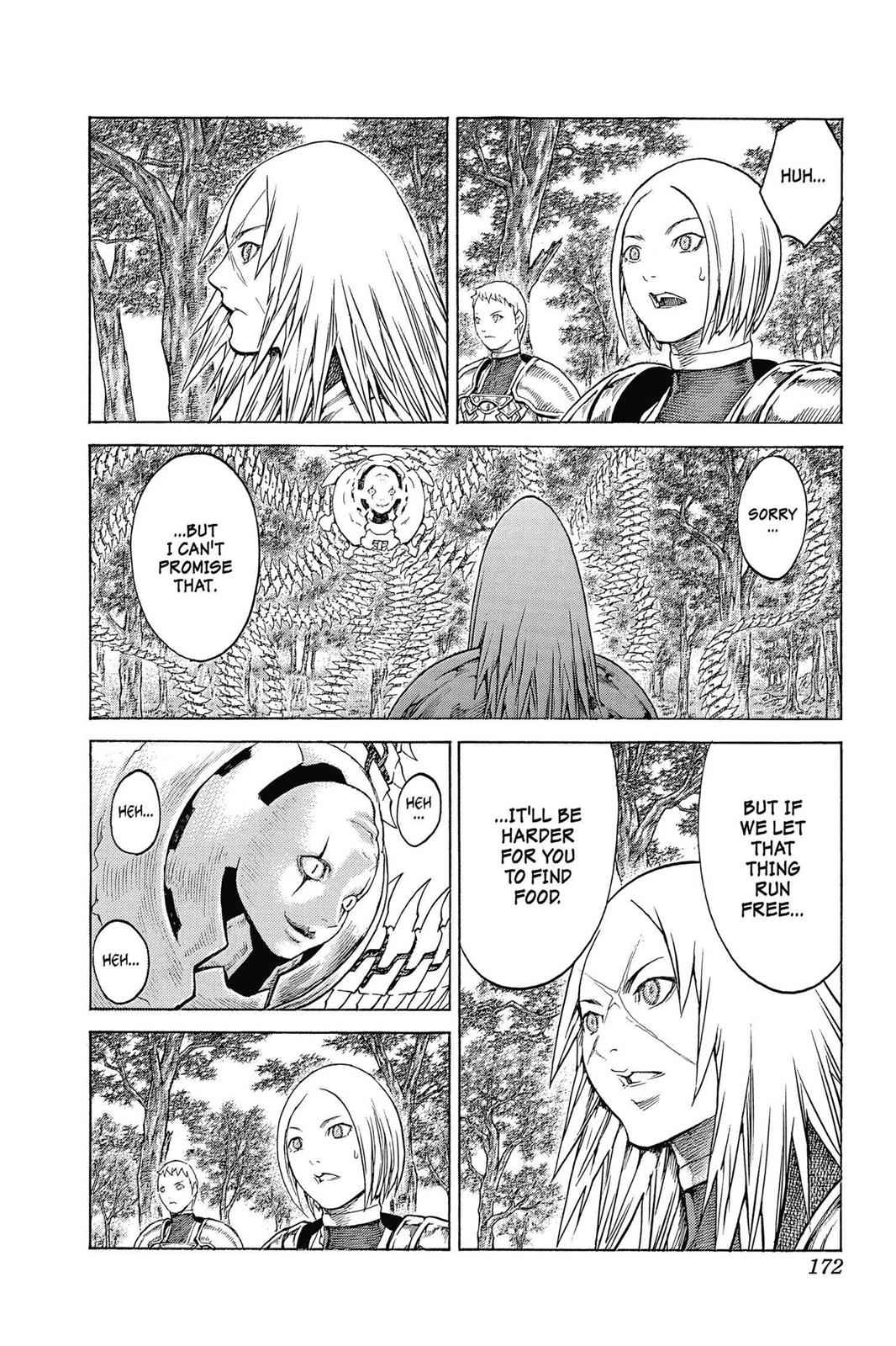 Claymore Chapter 137 Page 10