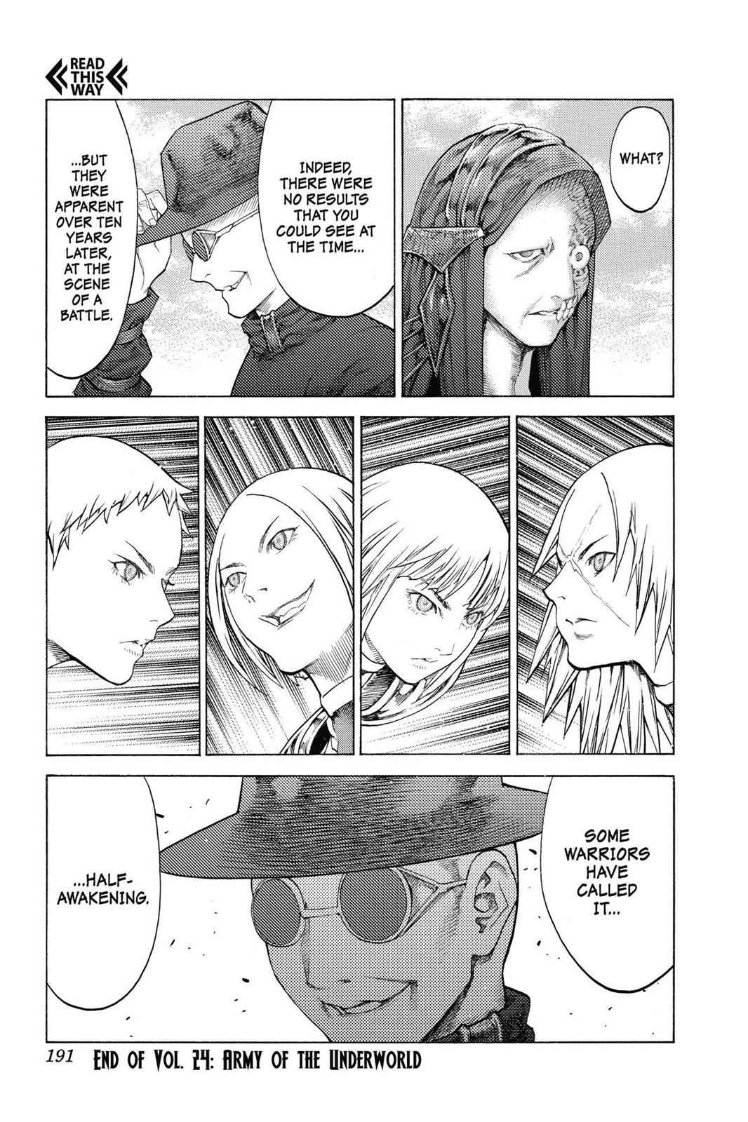 Claymore Chapter 137 Page 27