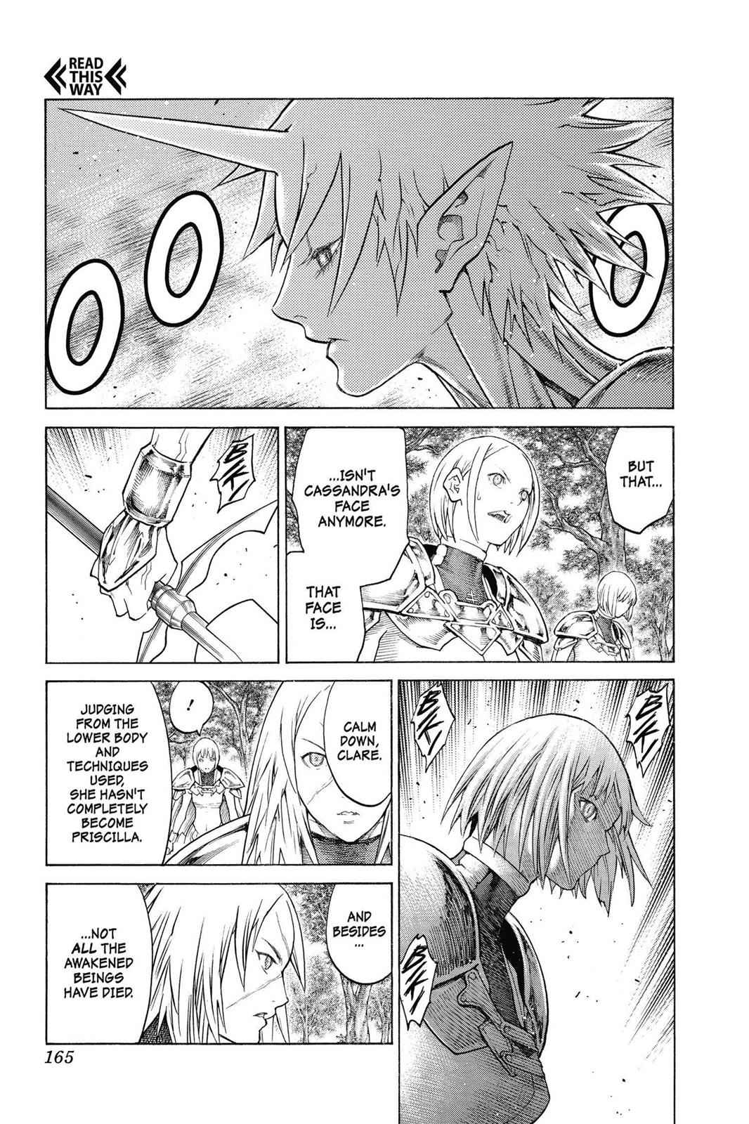 Claymore Chapter 137 Page 4