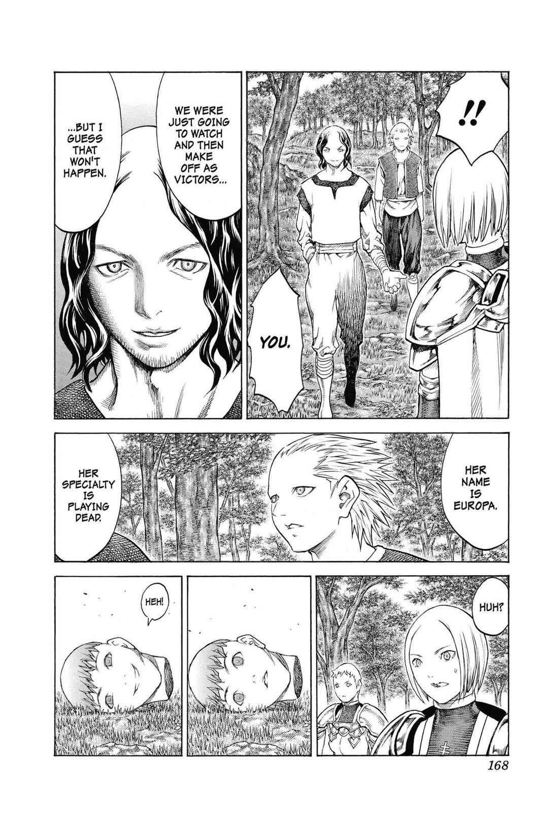 Claymore Chapter 137 Page 7