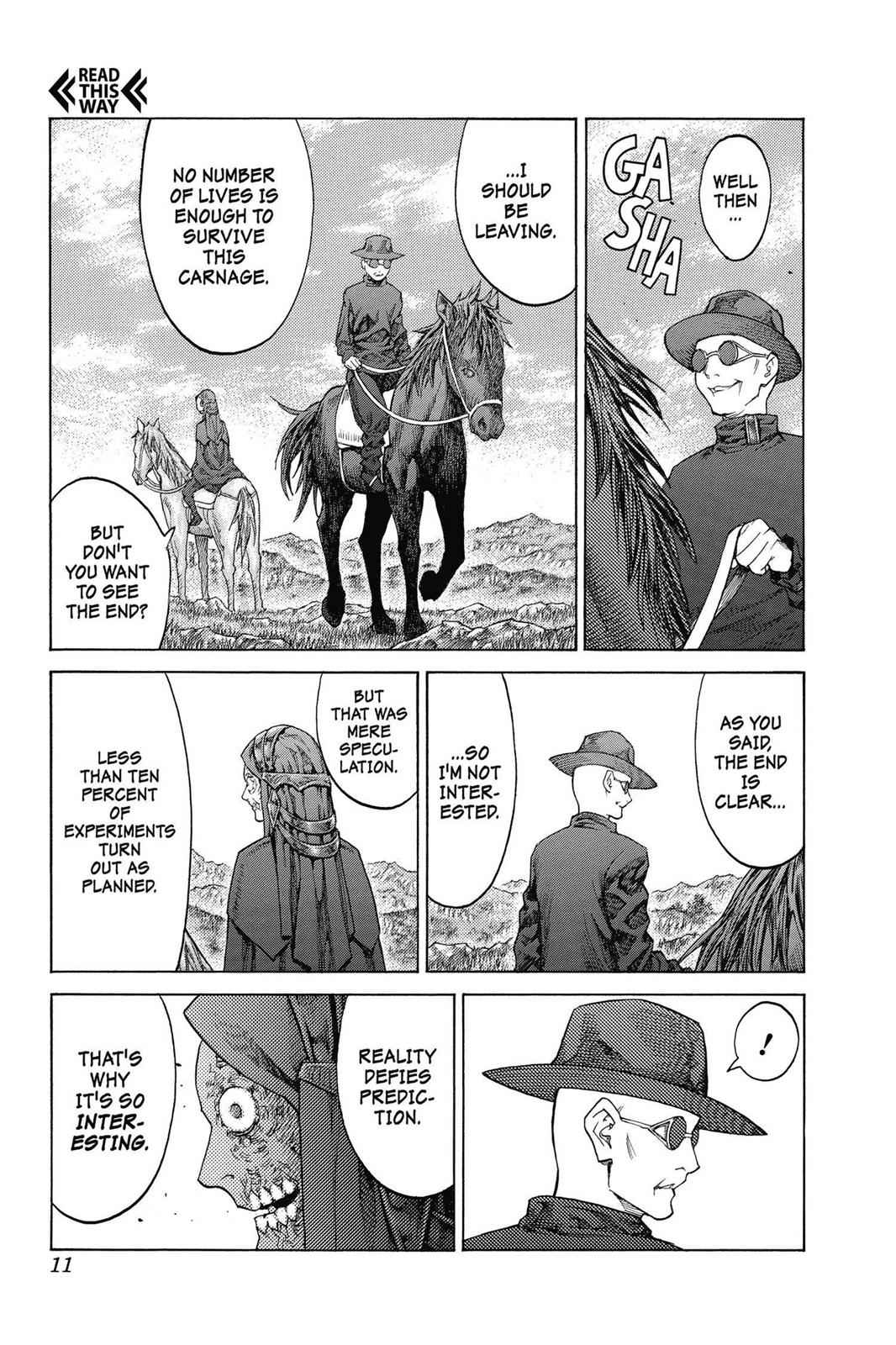 Claymore Chapter 138 Page 11