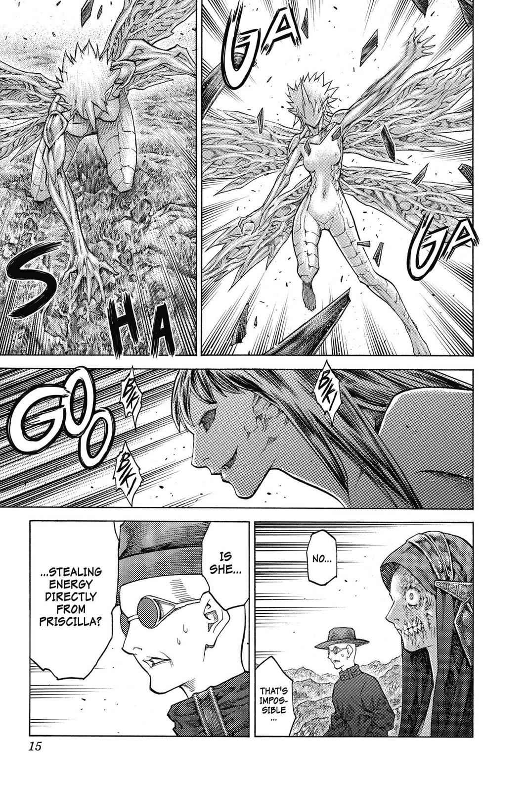 Claymore Chapter 138 Page 15