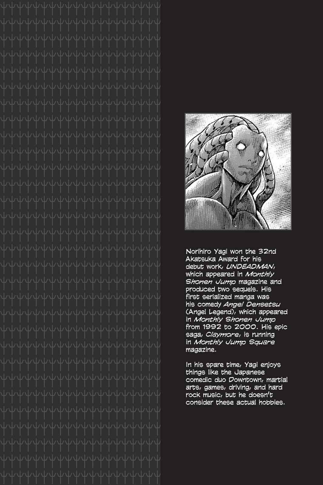 Claymore Chapter 138 Page 2