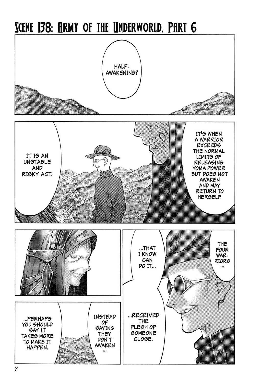 Claymore Chapter 138 Page 7