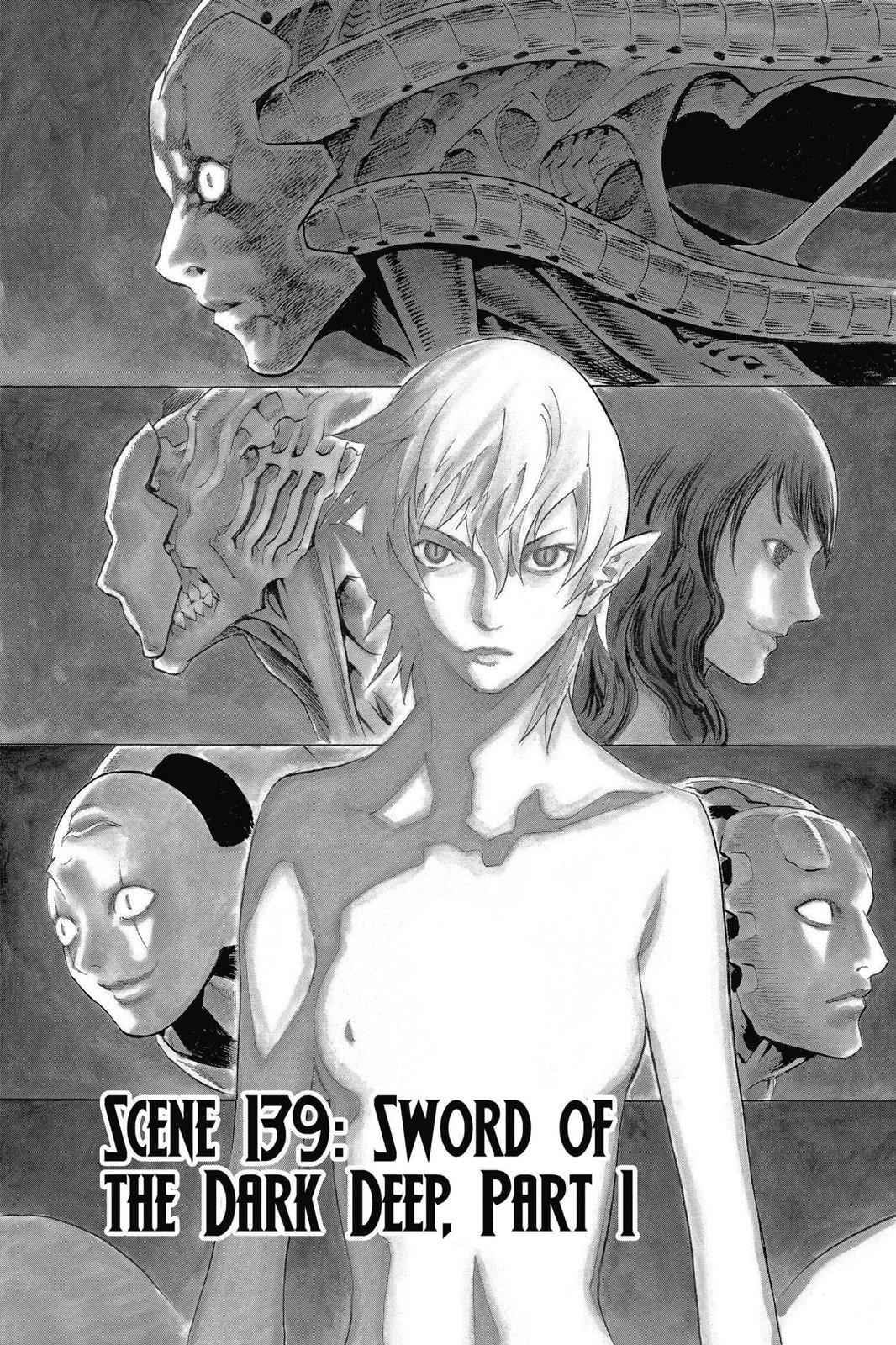 Claymore Chapter 139 Page 1