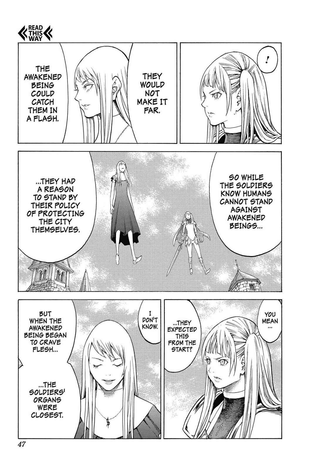 Claymore Chapter 139 Page 14