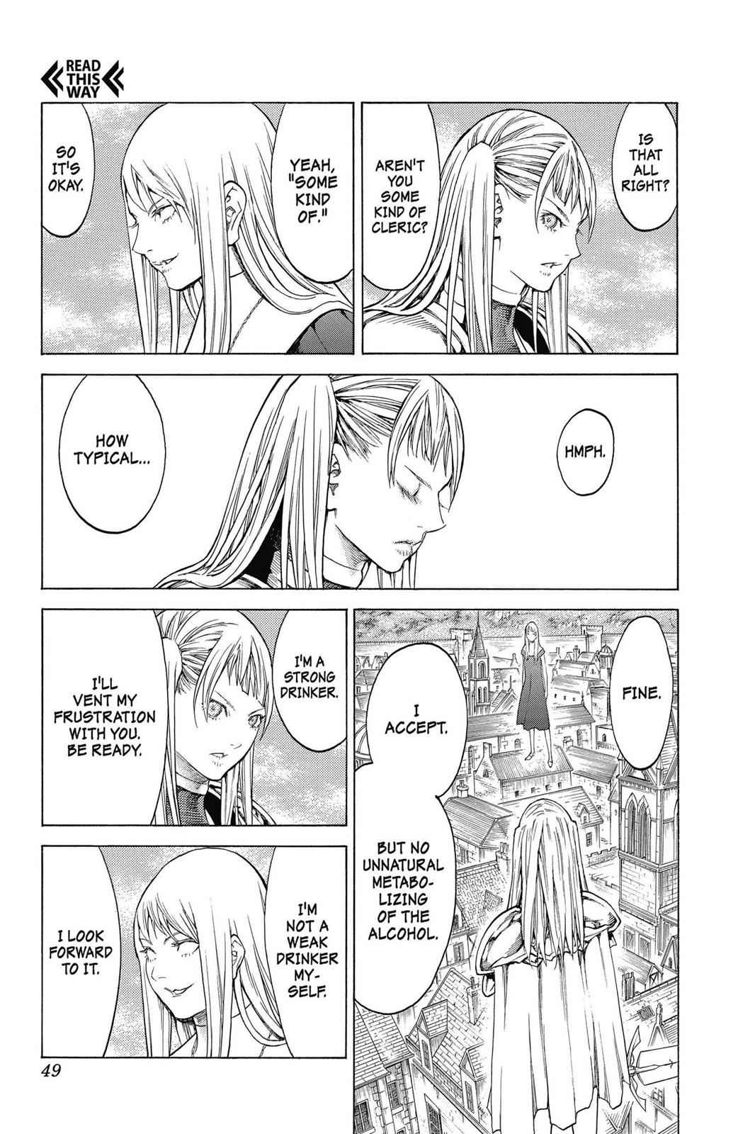 Claymore Chapter 139 Page 16