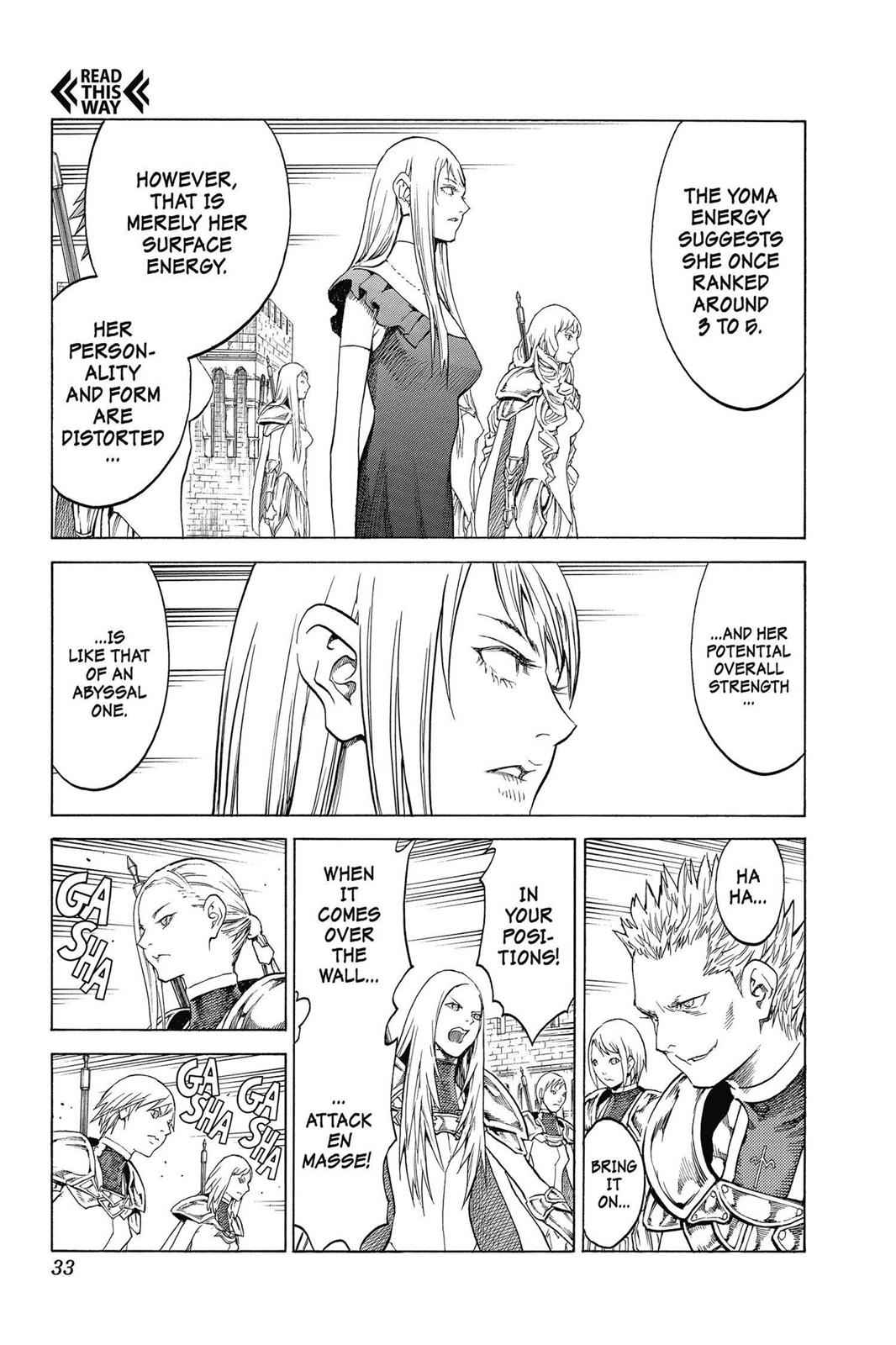 Claymore Chapter 139 Page 2