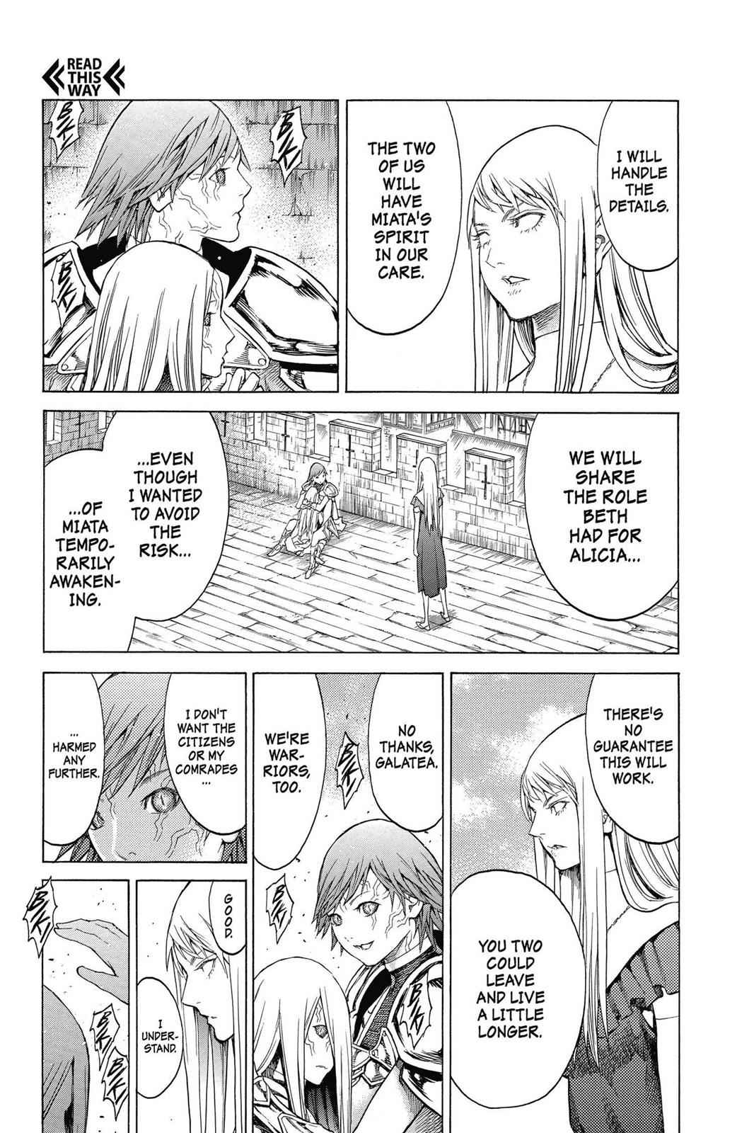 Claymore Chapter 139 Page 22