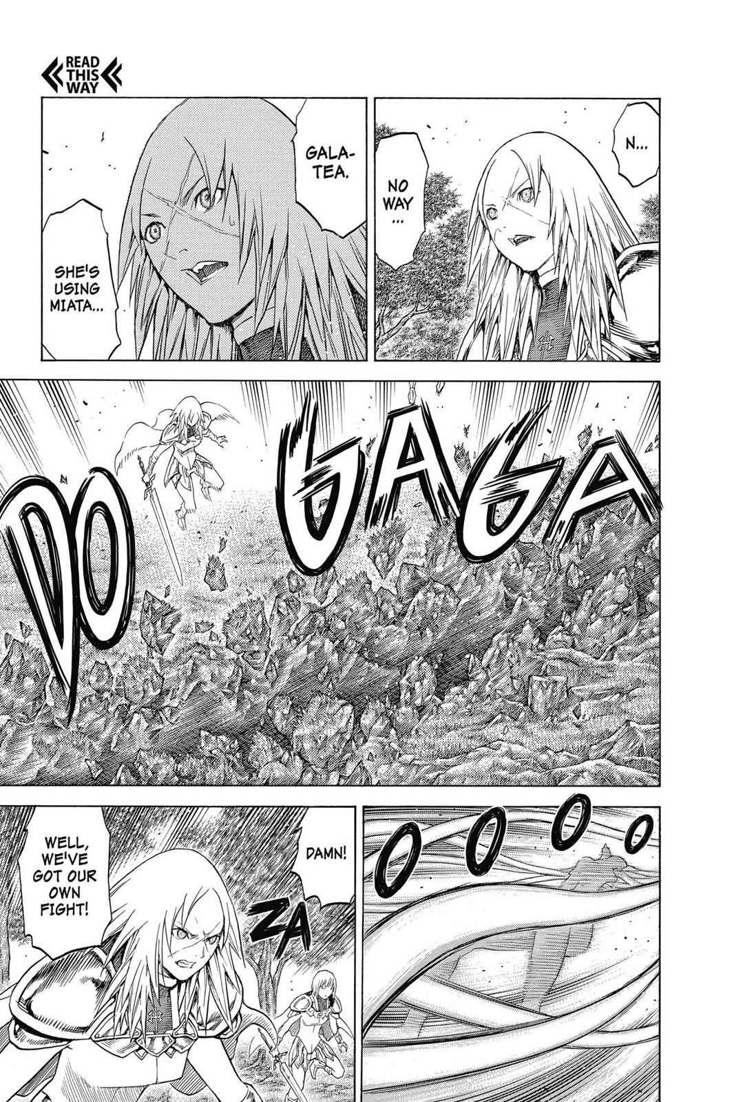Claymore Chapter 139 Page 25
