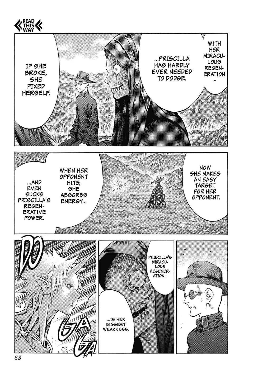 Claymore Chapter 139 Page 28