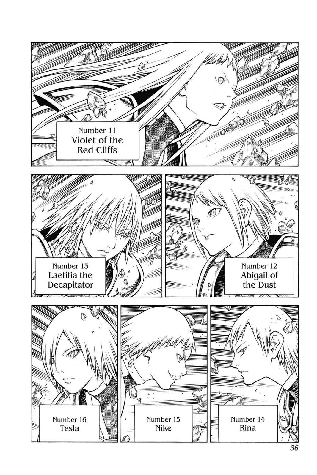 Claymore Chapter 139 Page 4