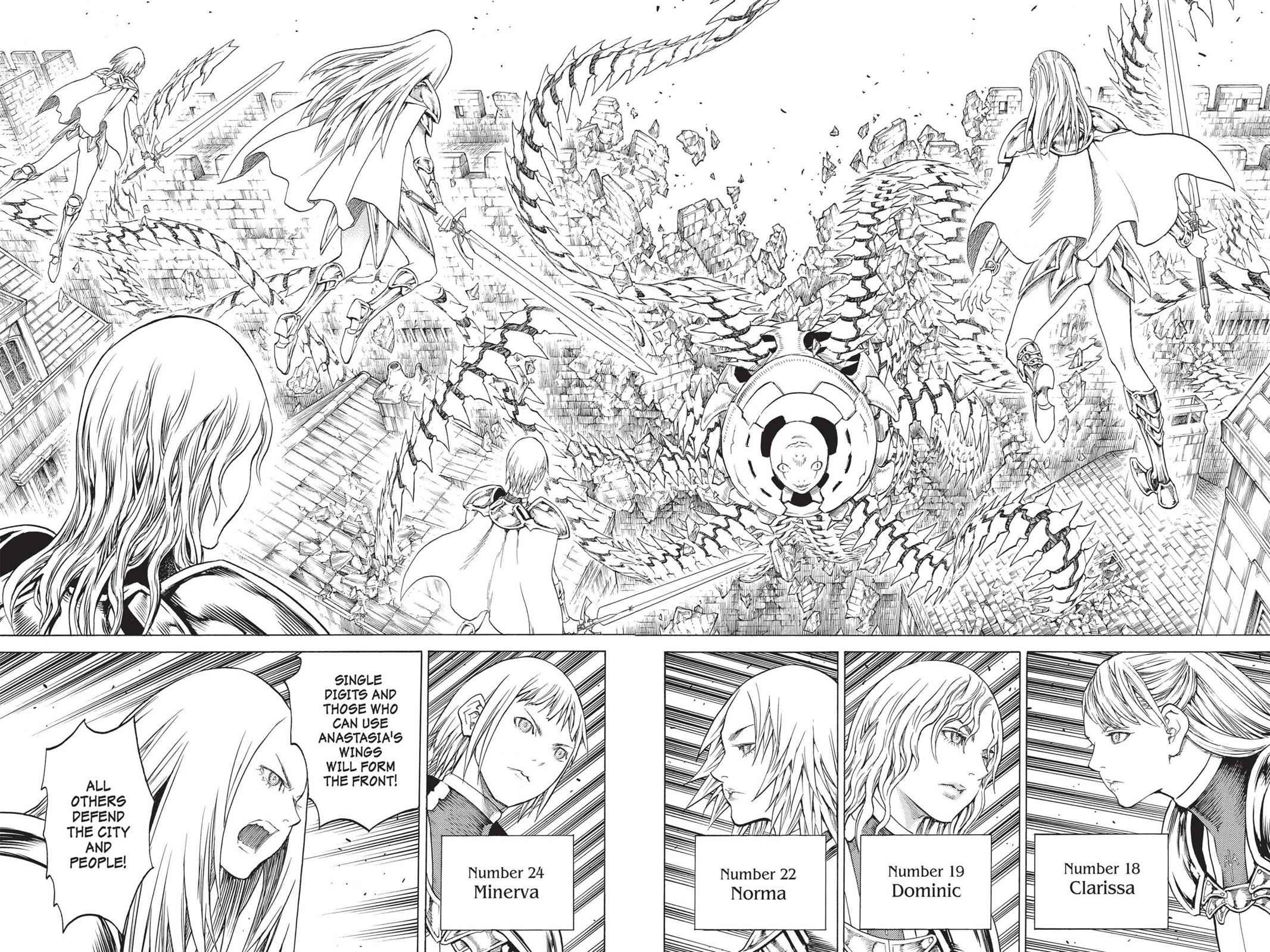 Claymore Chapter 139 Page 6