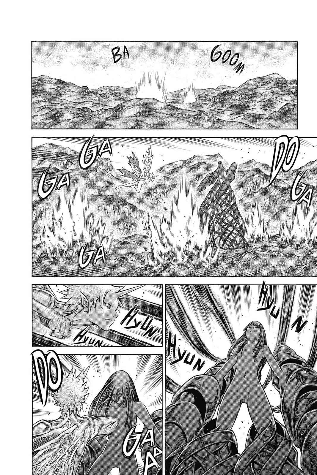 Claymore Chapter 140 Page 15
