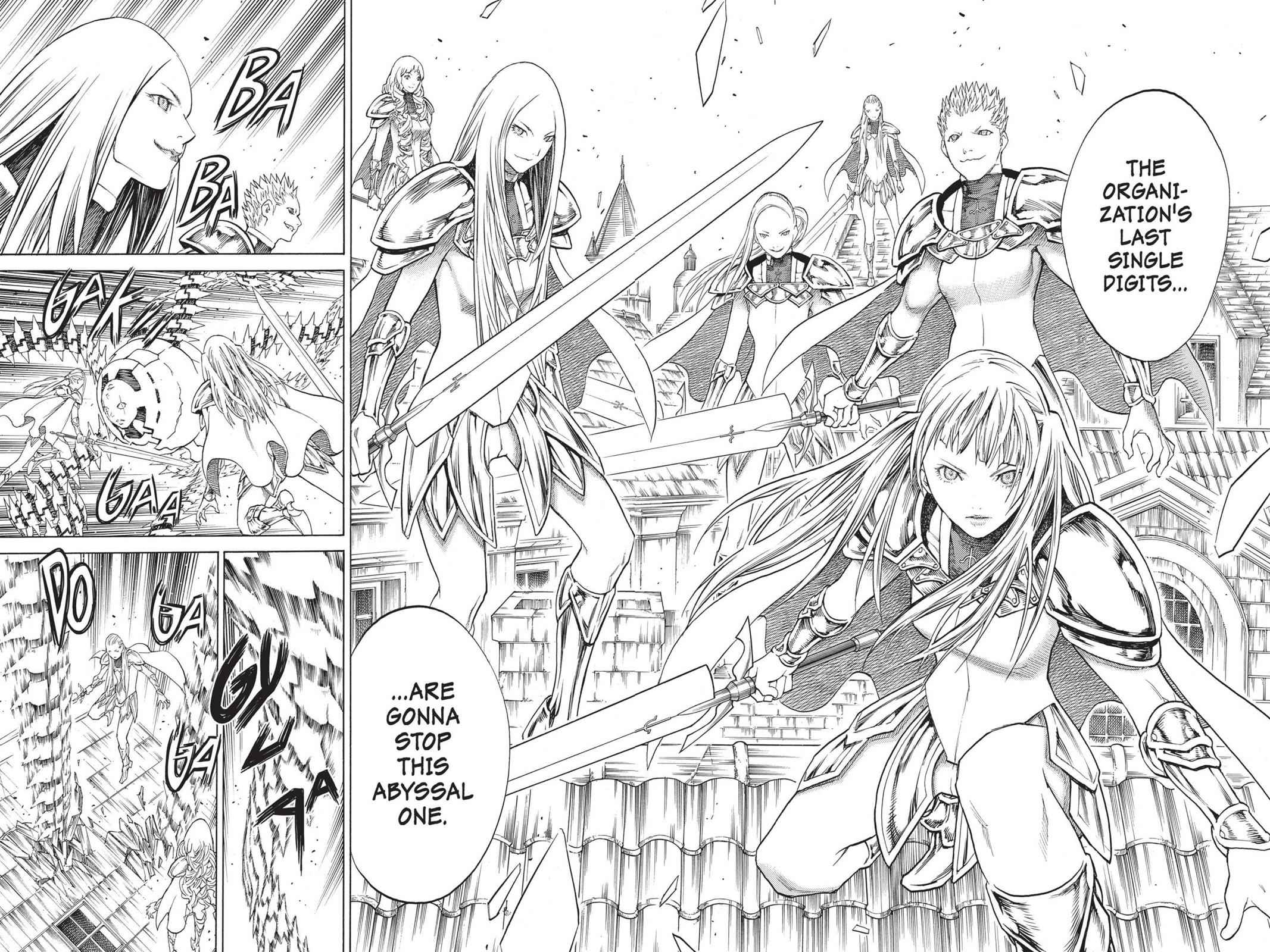 Claymore Chapter 140 Page 7