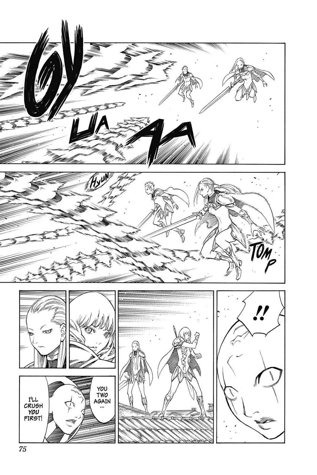 Claymore Chapter 140 Page 9