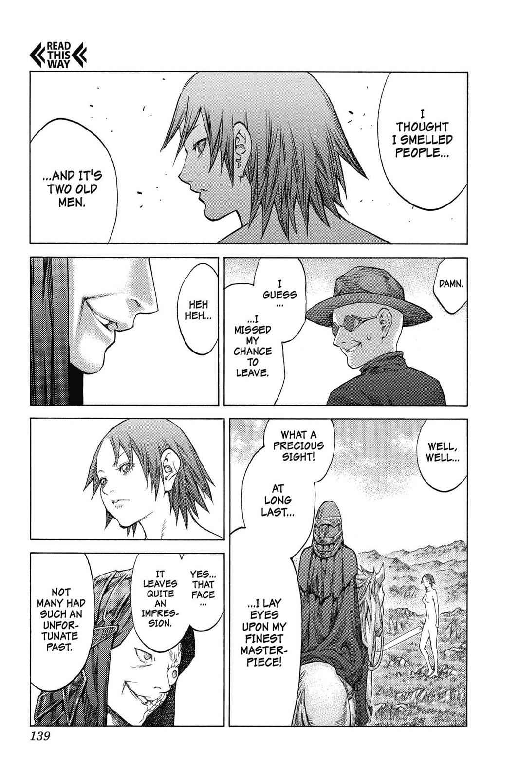 Claymore Chapter 142 Page 11