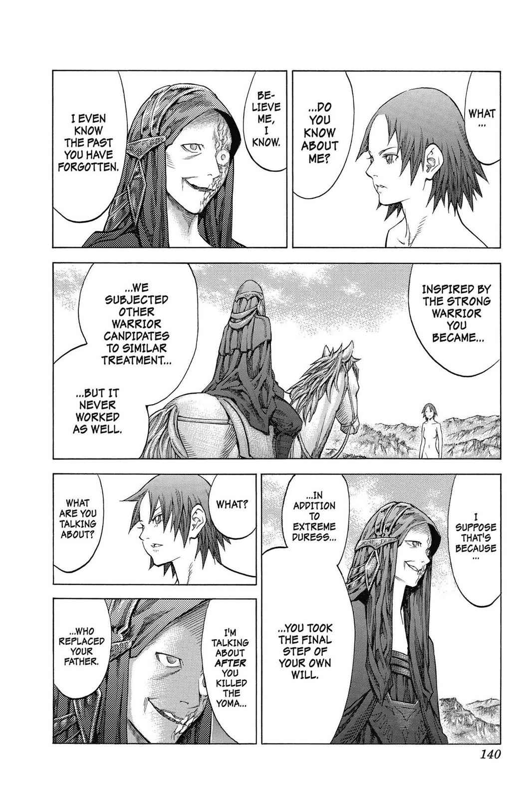 Claymore Chapter 142 Page 12
