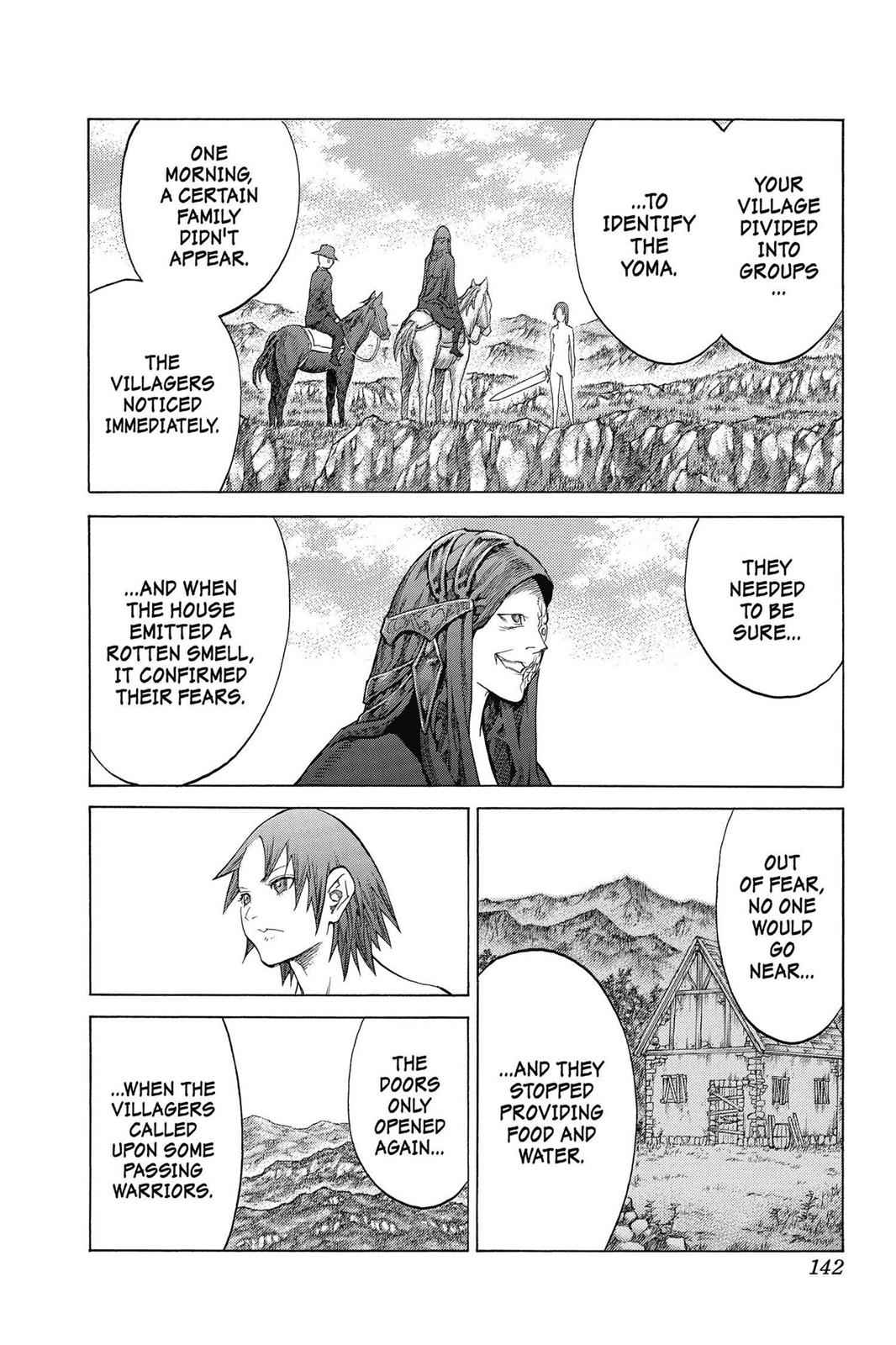 Claymore Chapter 142 Page 14