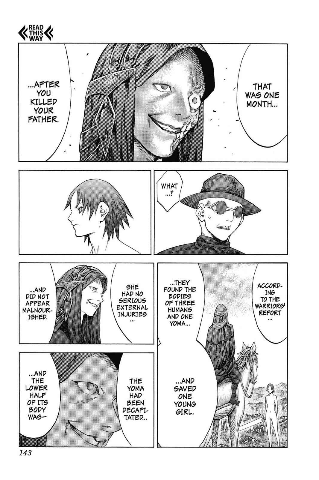 Claymore Chapter 142 Page 15