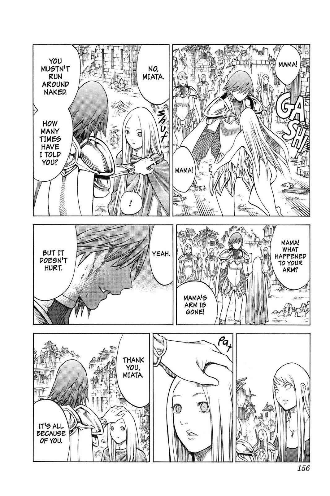 Claymore Chapter 142 Page 25