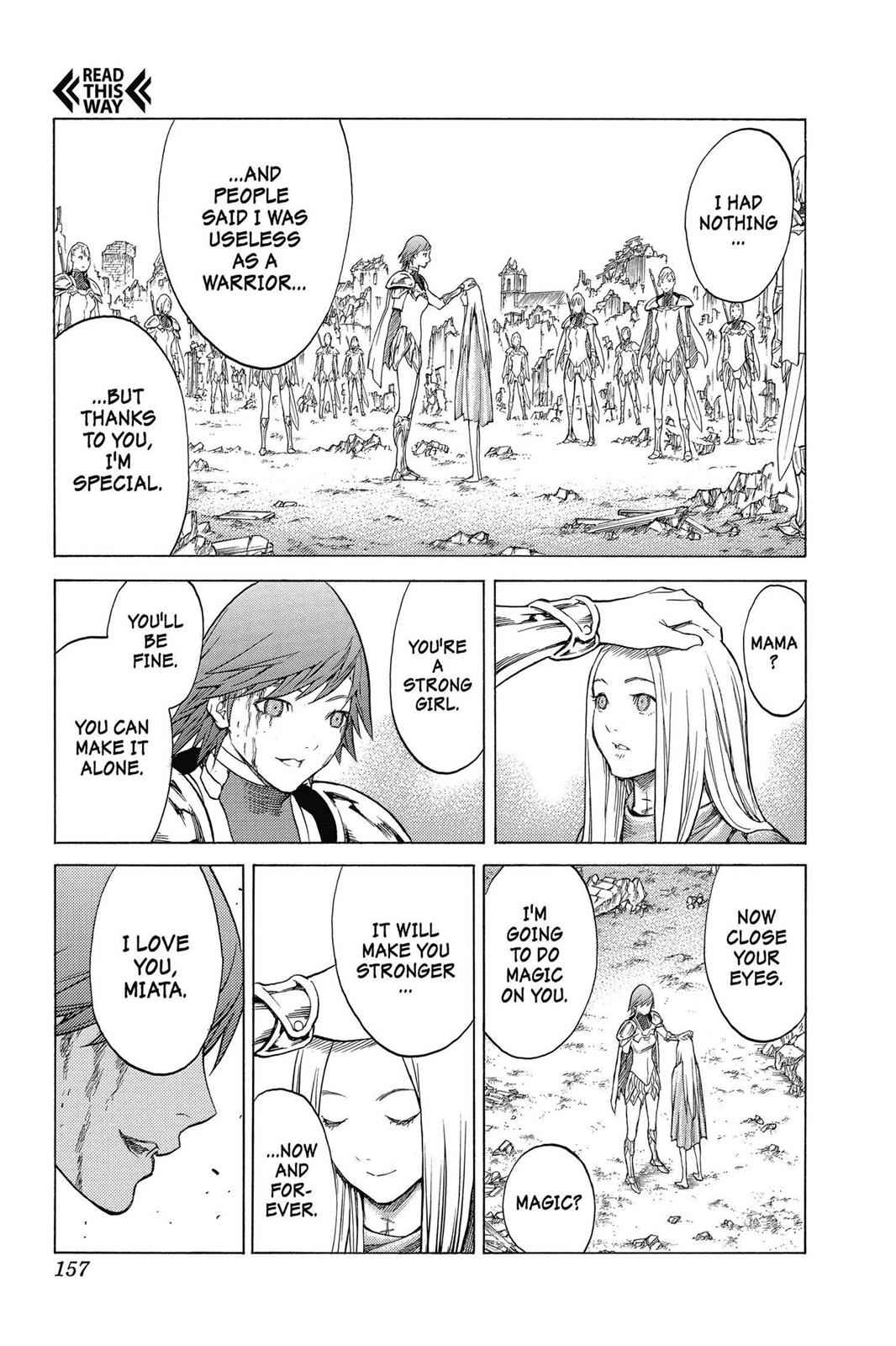 Claymore Chapter 142 Page 26