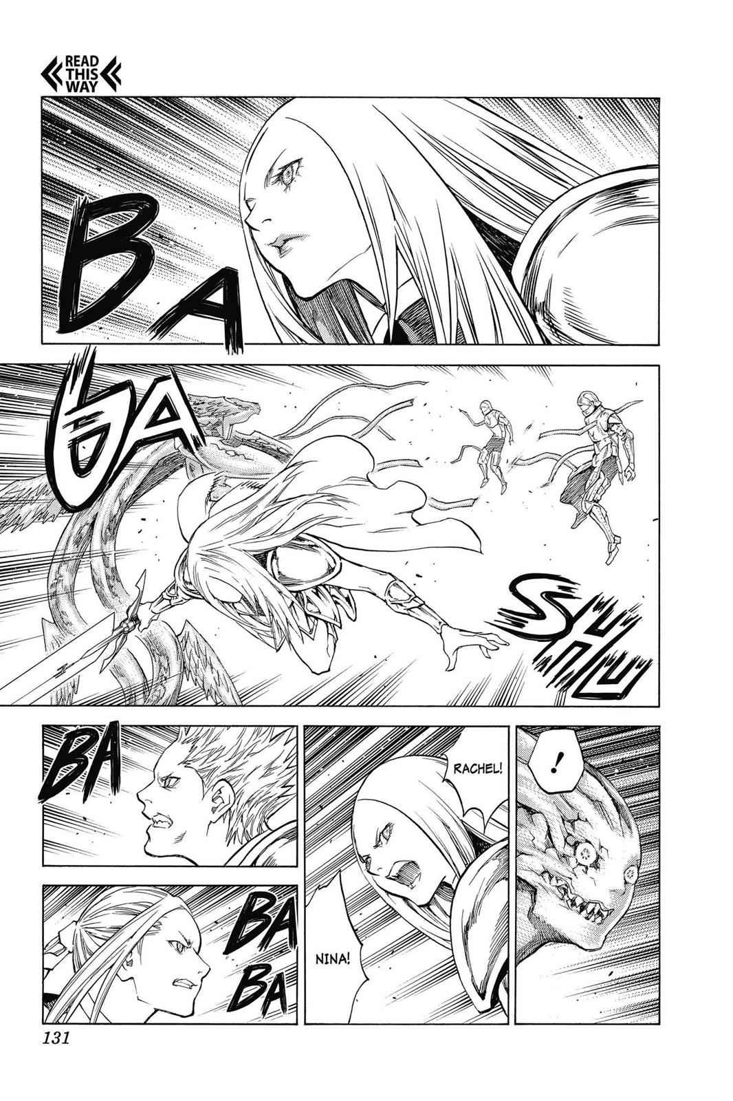 Claymore Chapter 142 Page 3