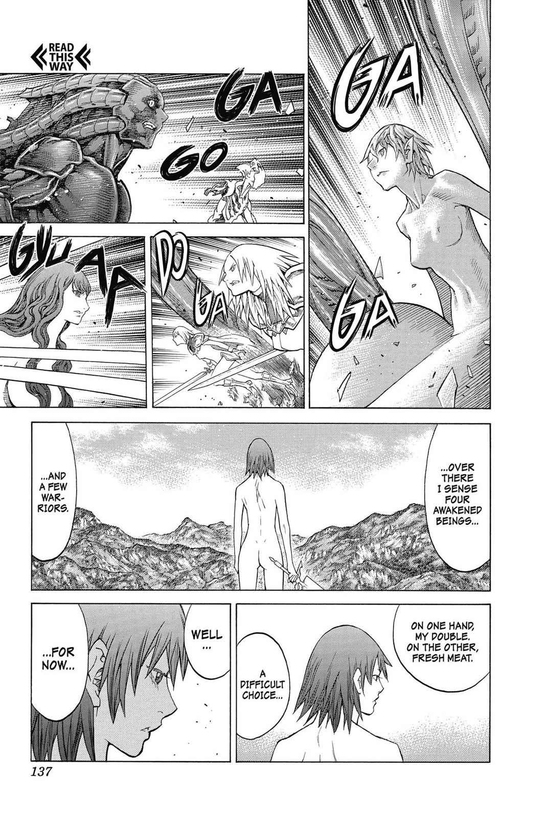 Claymore Chapter 142 Page 9