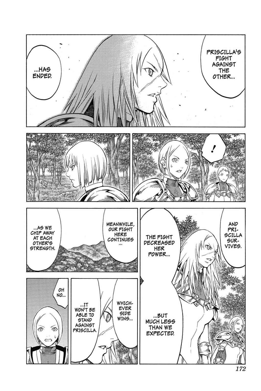 Claymore Chapter 143 Page 12