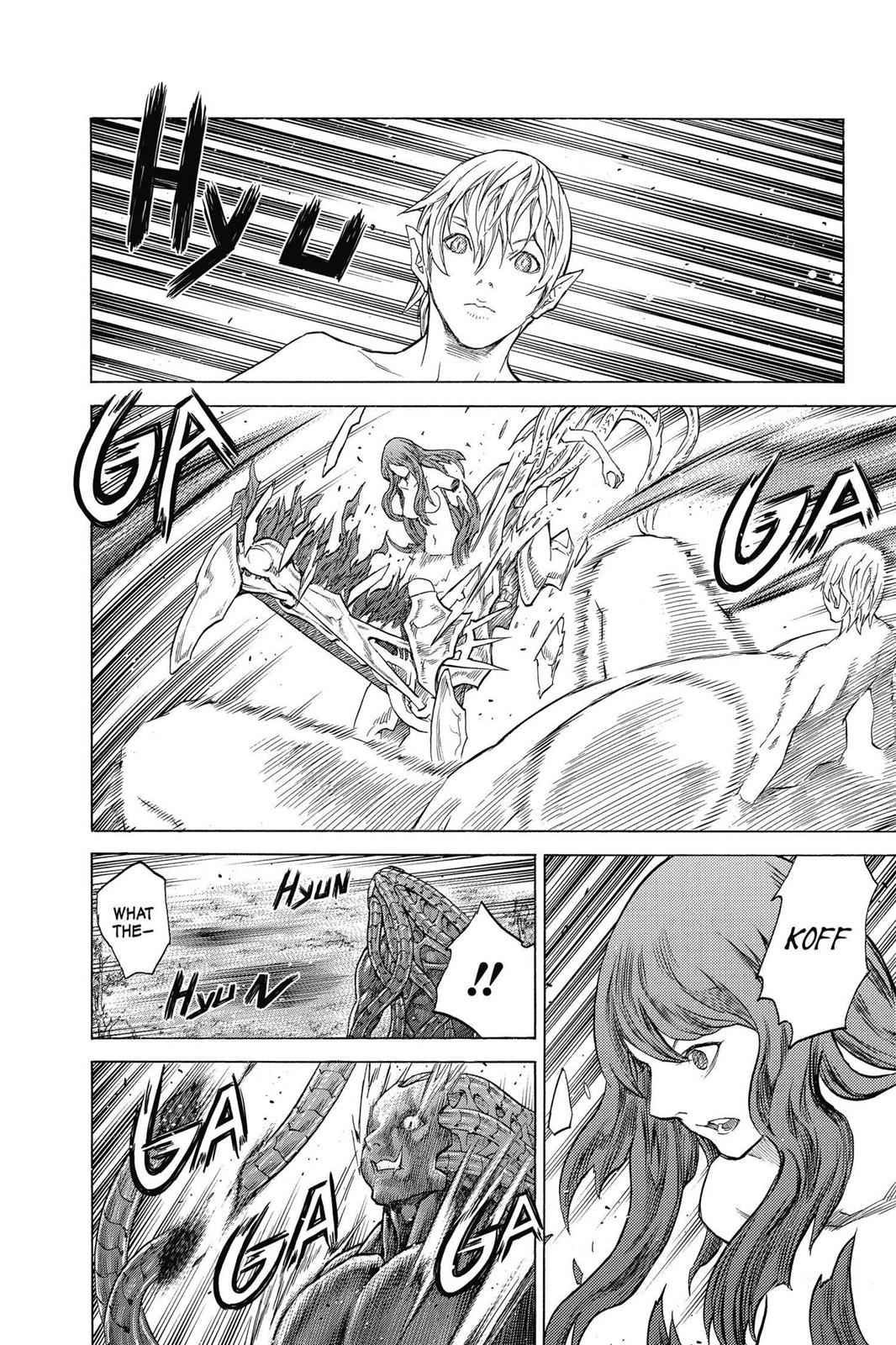 Claymore Chapter 143 Page 16