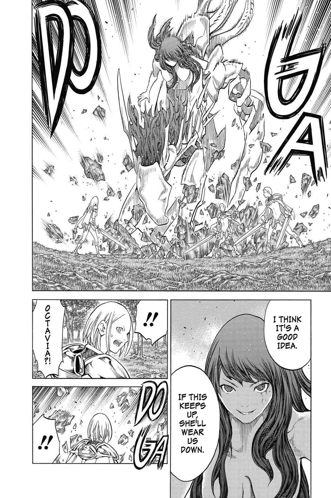 Claymore Chapter 143 Page 20