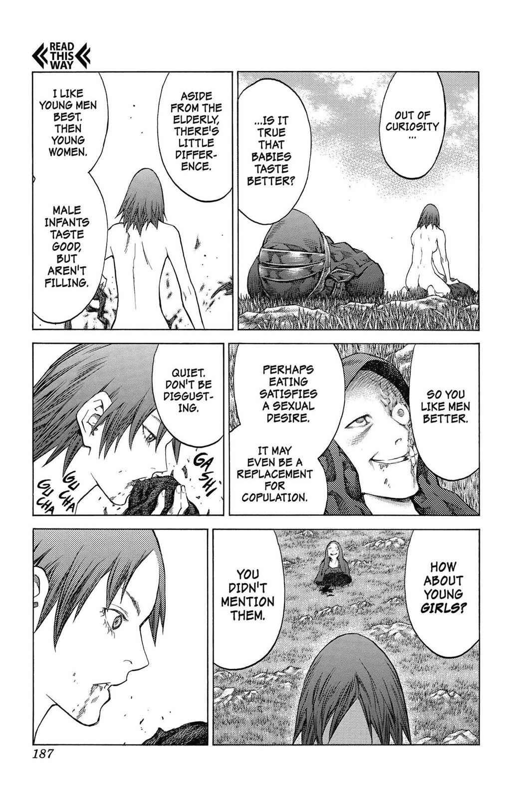 Claymore Chapter 143 Page 27