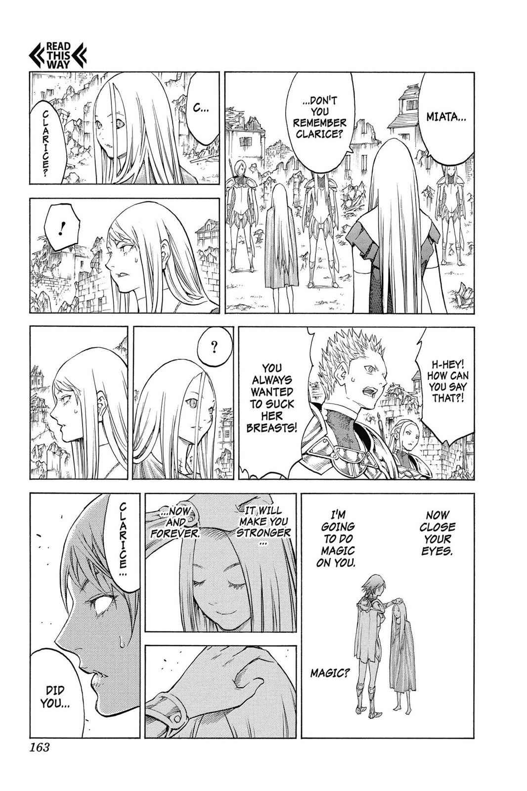 Claymore Chapter 143 Page 3