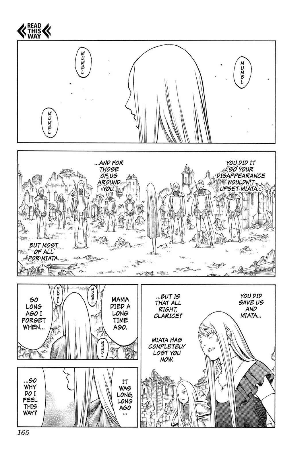 Claymore Chapter 143 Page 5