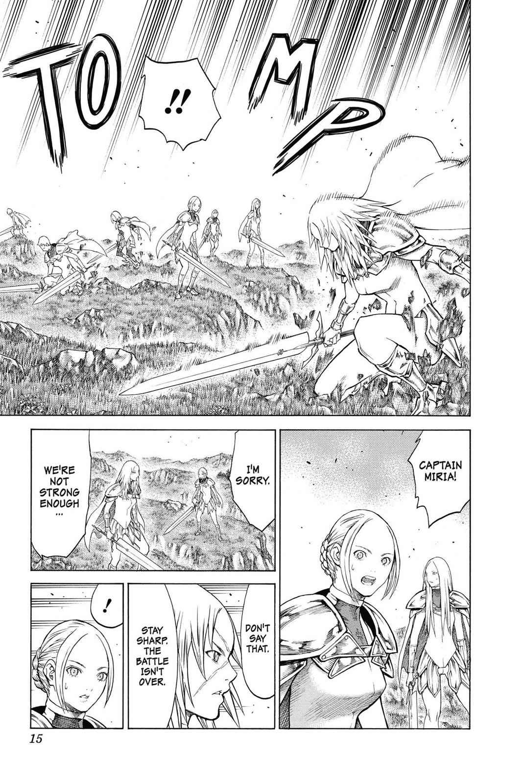 Claymore Chapter 144 Page 14