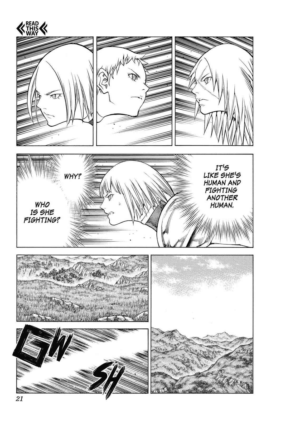 Claymore Chapter 144 Page 19