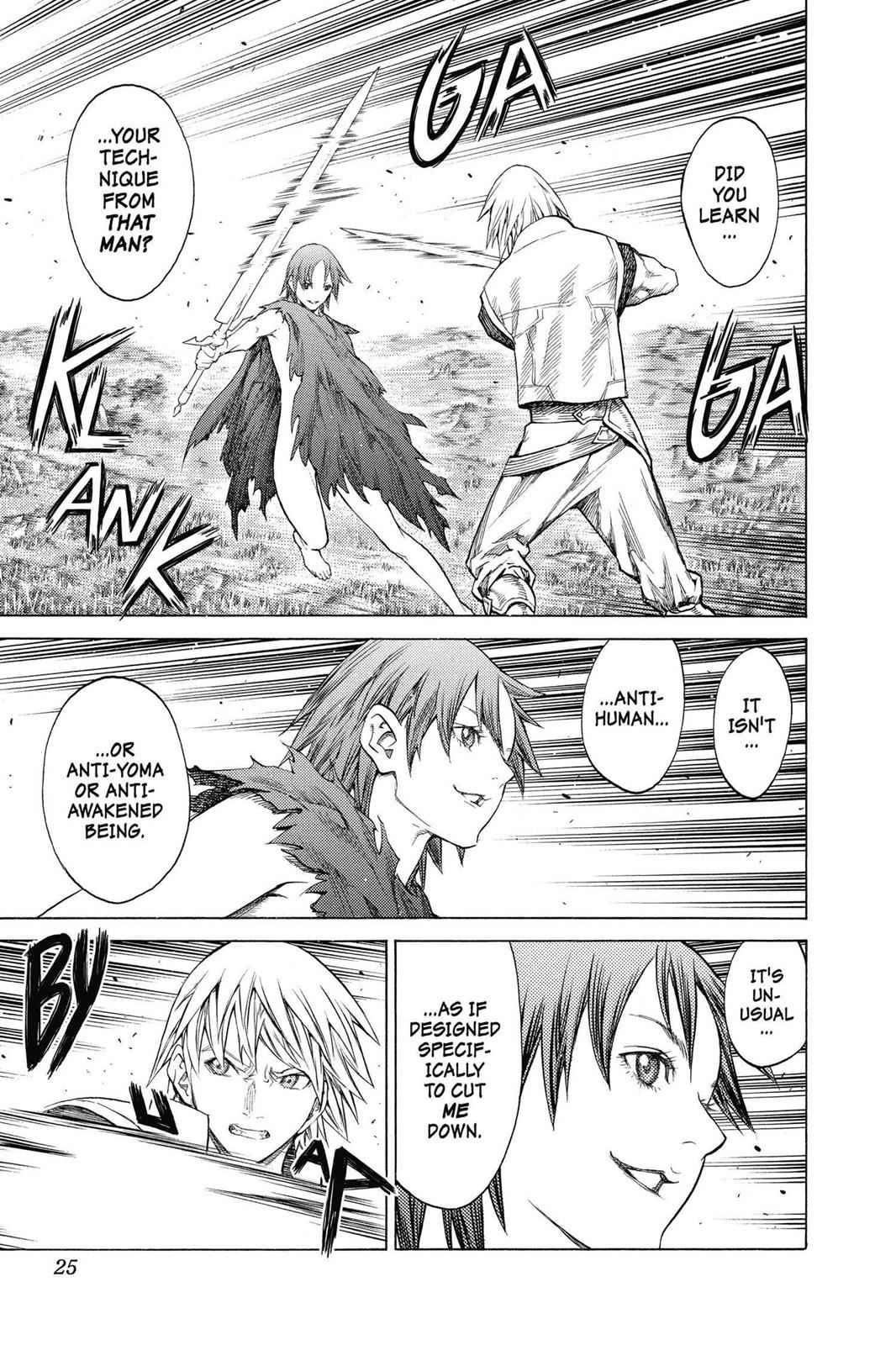 Claymore Chapter 144 Page 23