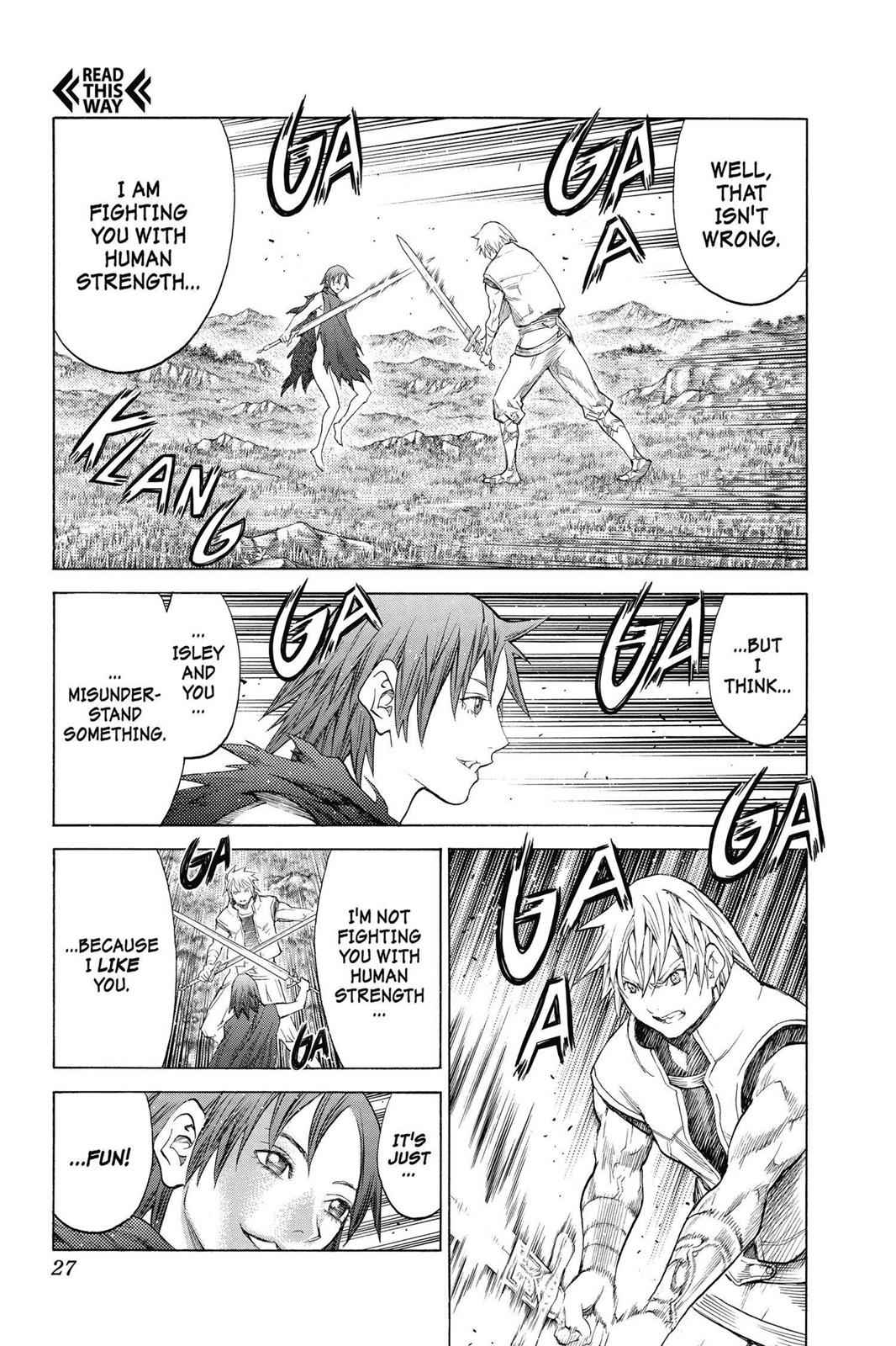 Claymore Chapter 144 Page 25