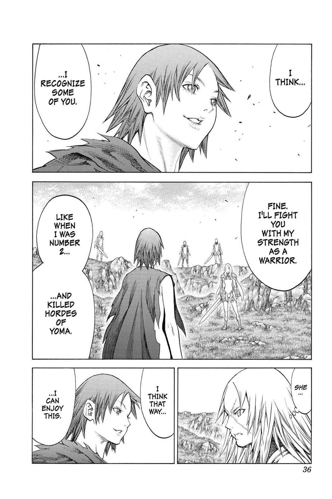 Claymore Chapter 144 Page 32